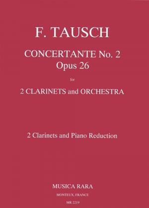 Tausch: Concertante 2 in B op. 26