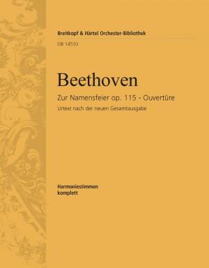 Beethoven, L: Namensfeier op. 115. Ouvertüre