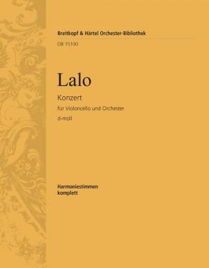 Lalo, E: Konzert für Violoncello und Orchester d-moll