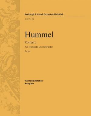 Hummel, J: Trompetenkonzert E-dur