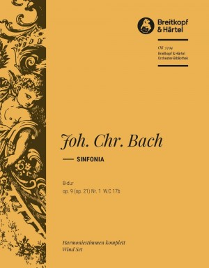 Bach, J: Sinfonia B-dur op. 21/1