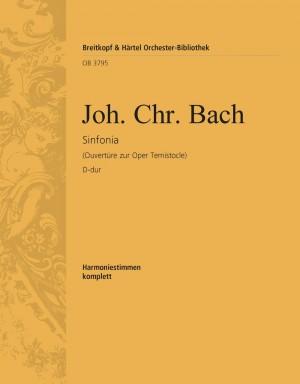 Bach, J: Sinfonia D-dur Ouv. Temistocle