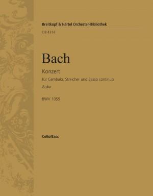 Bach, JS: Cembalokonzert A-dur BWV 1055