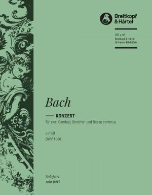Bach, JS: Cembalokonzert c-moll BWV 1060