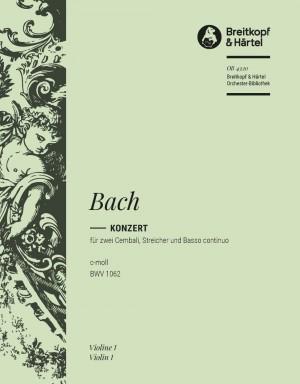 Bach, JS: Cembalokonzert c-moll BWV 1062