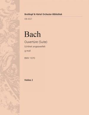 Bach, JS: Ouvertüre(Suite)g-moll BWV1070