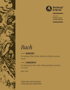 Bach, JS: Konzert a-moll BWV 1044