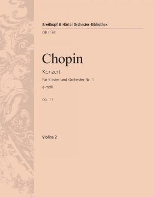 Chopin: Klavierkonzert 1 e-moll op.11