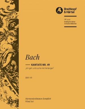 Bach, J S: Kantate 49 Ich geh und suche
