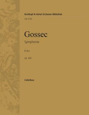 Gossec: Symphonie B-dur op. 6/6