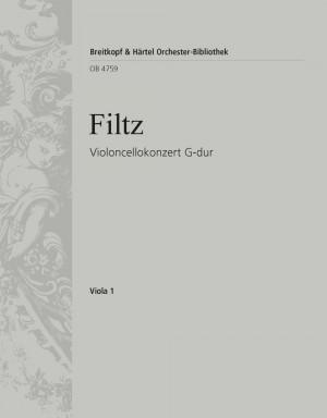 Filtz: Violoncellokonzert G-dur