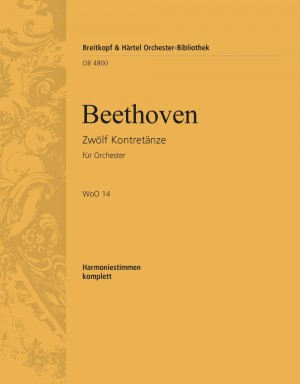 Beethoven, L: Zwölf Kontretänze WoO 14