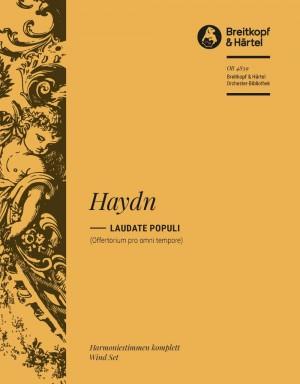 Haydn, M: Laudate Populi (Offertorium)