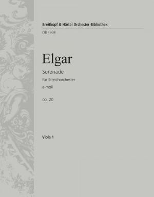 Elgar: Serenade e-moll op. 20