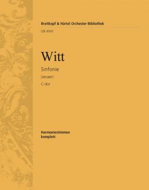 Witt, F: Sinfonie C-dur (Jenaer)