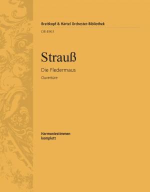 Strauss, J: Fledermaus op. 367. Ouvertüre
