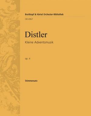 Distler: Kleine Adventsmusik op. 4
