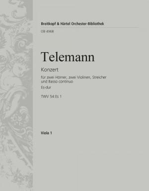 Telemann: Konzert Es-dur