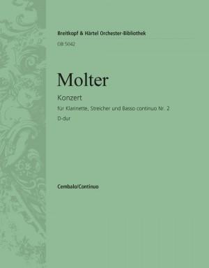 Molter: Klarinettenkonzert Nr. 2 D-dur