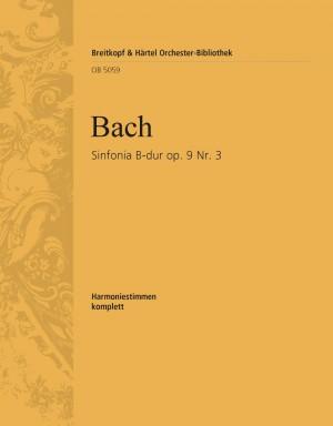 Bach, J: Sinfonia B-dur op. 9/3