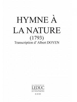 Francois-Joseph Gossec: Hymne A La Nature-Repert Fetes Peuple