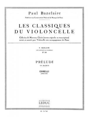 Arcangelo Corelli: Arcangelo Corelli: Prelude in C major