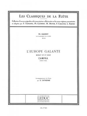 André Campra: Campra: L'Europe Galante - Menuet et Gigue