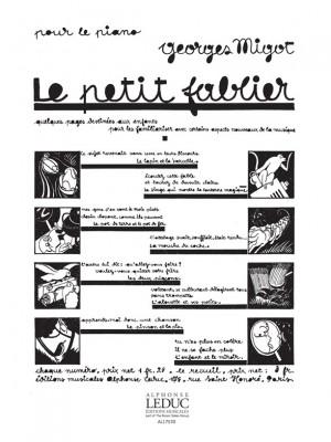 Georges Migot: Le Petit Fablier No.2