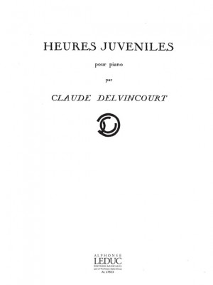 Claude Delvincourt: Heures Juveniles N012