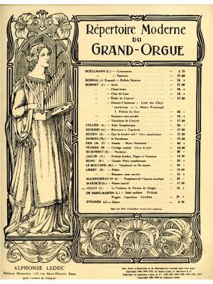 Georges Migot: Le Tombeau de Nicolas de Grigny