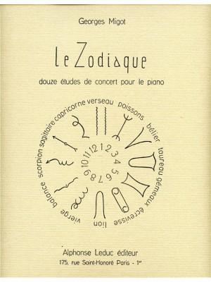 Migot: Le Zodiaque, 12 Etudes de Concert