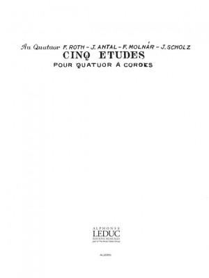 Laszlo Lajtha: Laszlo Lajtha: 5 Etudes Op.20