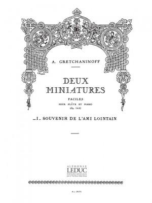 Alexander Grechaninov: Suite miniature Op.145, No.7