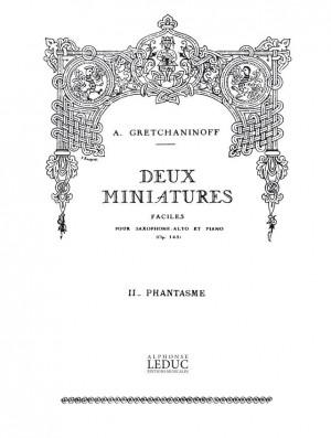 Alexander Grechaninov: Suite miniature Op.145, No.9 - Negre en chemise