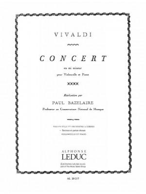 Antonio Vivaldi: Concerto in E minor