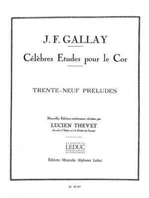 Jacques-François Gallay: 39 Preludes Mesures Et Non Mesures Op27