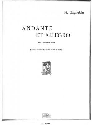 Henri Gagnebin: Andante et Allegro