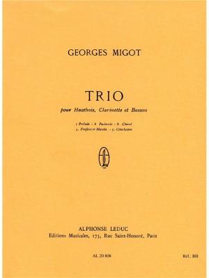 Georges Migot: Trio
