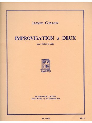Jacques Chailley: Improvisation A Deux