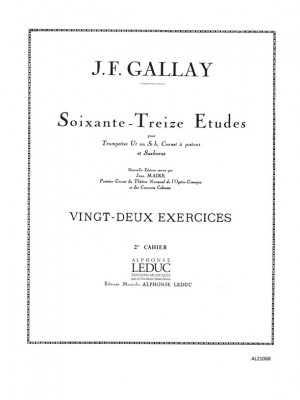 Jacques-François Gallay: Jacques François Gallay: 22 Exercices