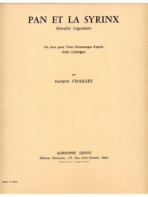 Jacques Chailley: Pan Et La Syrinx