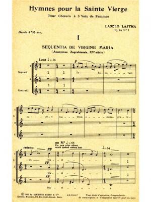 Laszlo Lajtha: Sequentia de Virgine Maria Op.65, No.1