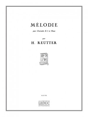 Reutter: Melodie