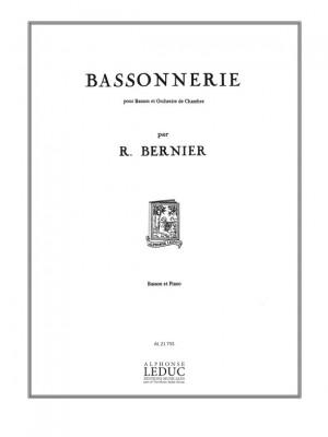 René Bernier: Bassonnerie