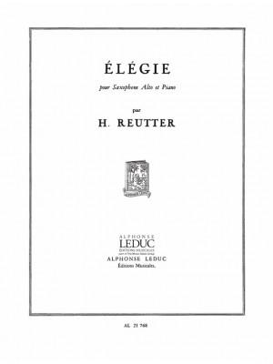 Reutter: Elegie