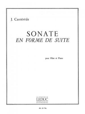 Jacques Castérède: Sonate En Forme De Suite