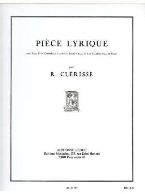 Robert Clerisse: Pièce Lyrique Product Image