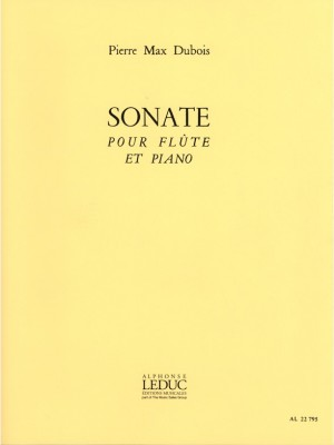 Pierre-Max Dubois: Sonate For Flute And Piano