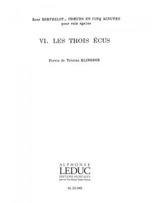 René Berthelot: Choeurs en 5 Minutes No.6 - Le Retour du Roi