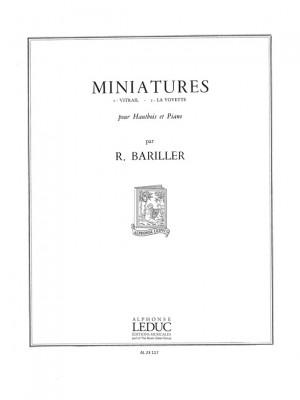 Robert Bariller: Miniatures